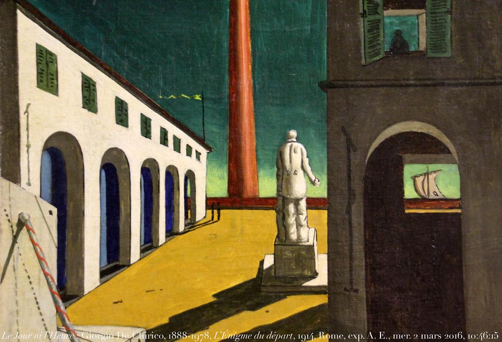 Giorgio De Chirico, 1914